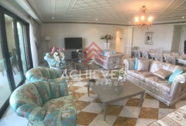 Versace furnished, largest 3 bed w/ maid